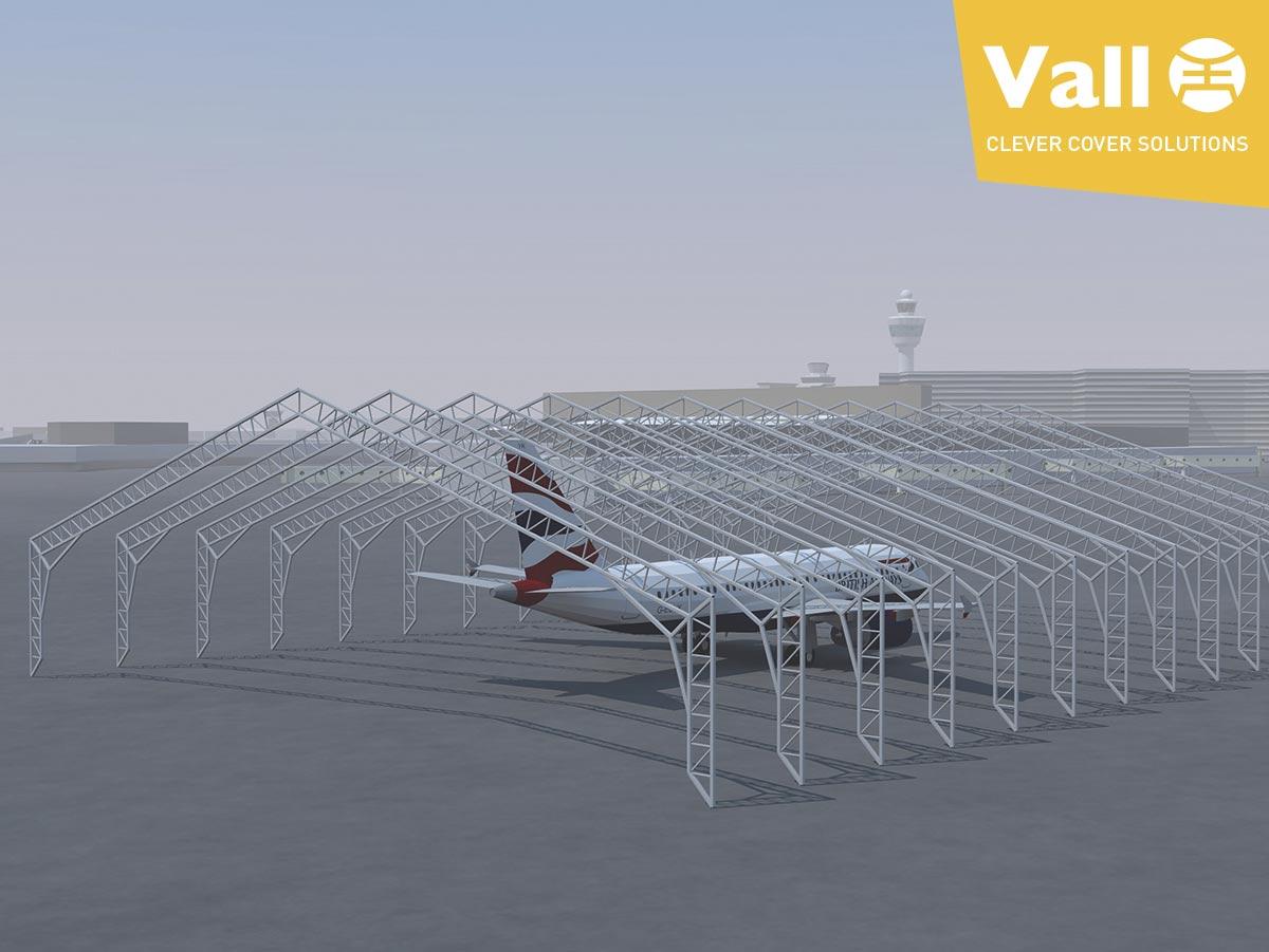 Gánale espacio a tu terreno con una estructura desmontable